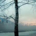 Закат над Липовой горой