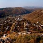 Вид на Воробьиные горы