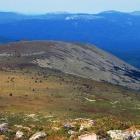 зап. плечо иремеля и зигальга с края плато вершины иремеля