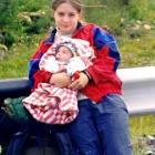 Первый поход большого туриста. Мельникова Камила и Слава.