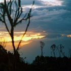 Закат над Меру.