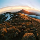 Восход на Килиманджаро..
