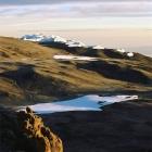 Кальдера вулкана Кибо.