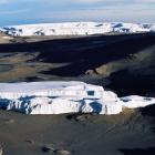 Кальдера вулкана Кибо-2.
