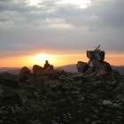 Восход солнца на вершине г.Уван (1222)