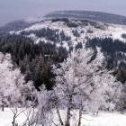 гора Каменный Форфос, за ней  - вершина 1164