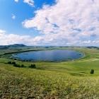 озеро бурсунсы (русские называют его жёлтым)