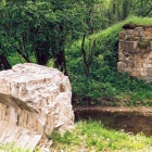 развалины моста через речку шушпинку в посёлке шушпа.