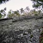 Скалы горы Устинской (к востоку от Ялангаса)