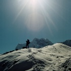 На леднике Юж. Иныльчек.  Фото-10