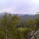 В районе скалы Стожок.