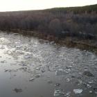 ледоход на реке Ай
