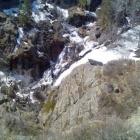 Водопад Гадельша с высоты птичьего полёта.