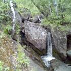 Маленькие водопадики на самом верху ущелья