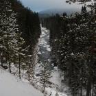 Речка Нура. Обрыв недалеко от деревни Нура. Ноябрь