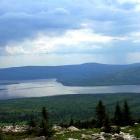 вот так выглядело озеро перед грозой