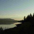 таким я увидела озеро на рассвете