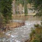 Место впадения Сарышты в Большой Инзер