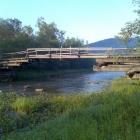 Бакеевский мост утром