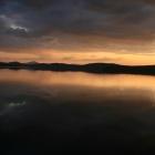 Закат на Зюраткуле