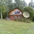 Дом со спутниковой антенной