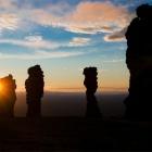 Закат на плато Маньпупунер