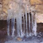В леднике Новомурадымовской пещеры