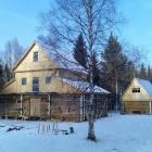 Новый дом для охотников и баня