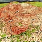 Модель горы Ямантау