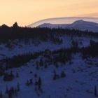 Закат над Зигальгой.
