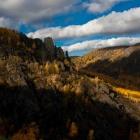 горное ущелье осень 2011