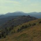 Панорама хребта Машак с горы Медвежья
