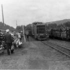 Прибытие поезда из Тирляна на станцию Шушпа.