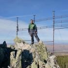 Я на фоне Антенны, на Западной Скале. 29.09.2012