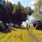 Наш лагерь под Кургазаком