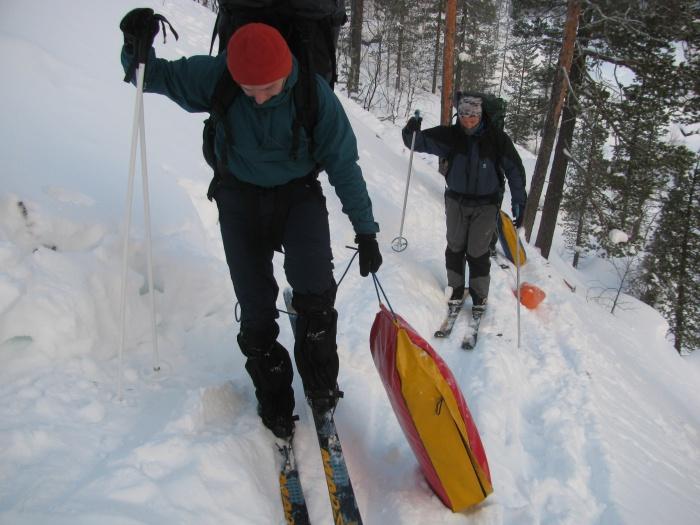 Отчет о лыжном спортивном походе третьей  категории сложности по Кольскому полуострову