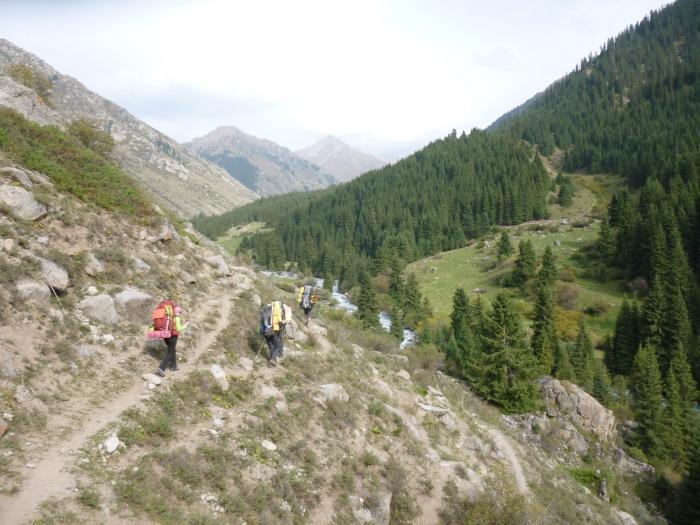 Отчет о горном походе 3кс в районе хребта Терскей-Алатау