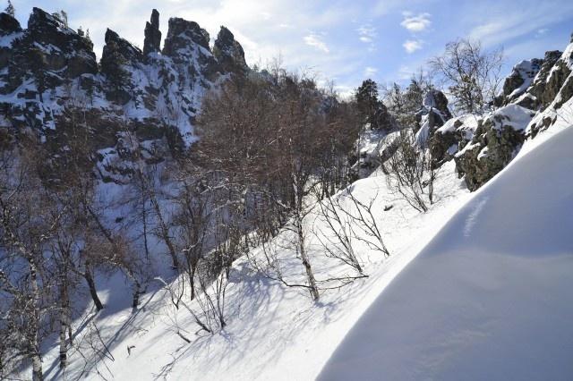 Хр.Урал-Тау синие скалы