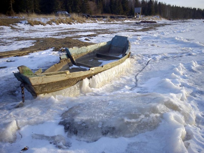 Закованная в льды