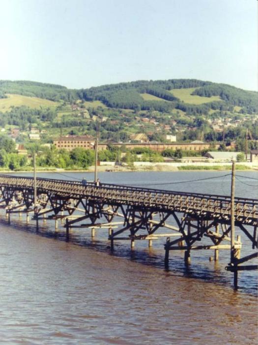 Мост через Белорецкий пруд