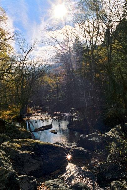 Осенью в Горном Ущелье