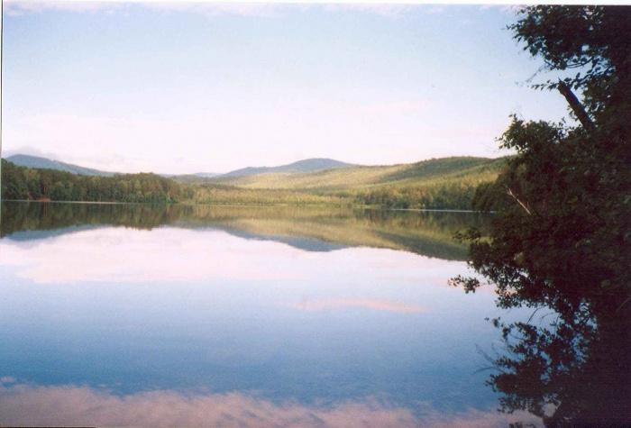 Озеро Иннышко рядом с Тургояком