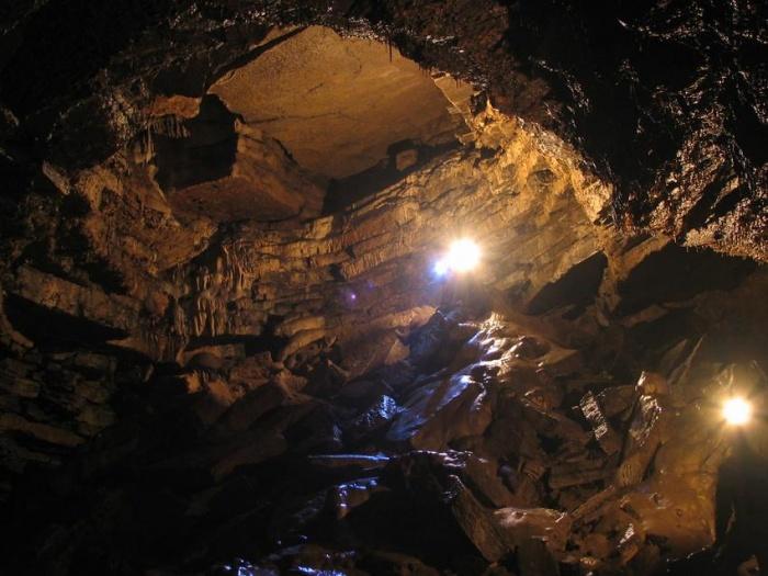 Гости пещеры