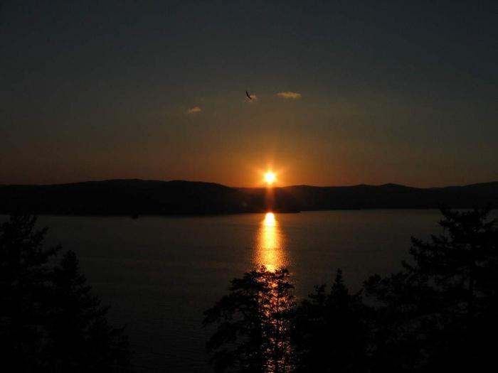 Закат на оз.Тургояк
