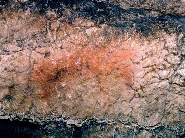 Рисунки древних людей в Игнатьевской пещере