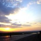 солнце, небо и дорога - что ещё туристу надо