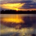 Закат на Архимандритском озере
