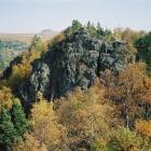 Вид на Курташ с Синих скал.