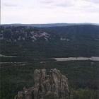 Вид от Двуглавой Сопки в сторону Большой Каменной реки