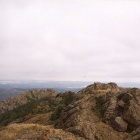 Вершина хребта Крыктытау - гора Караташ